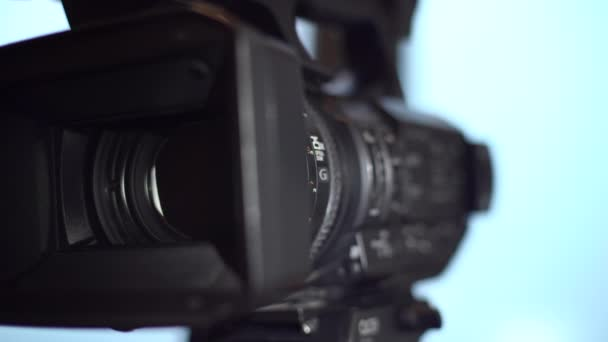 4k, Video Camera Panning And Zooming, Video Camcorder Lens