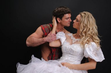 sexy highlander and princess