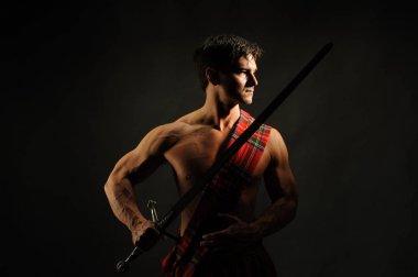 The handsome highlander