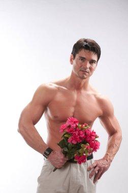 The sexy valentine man