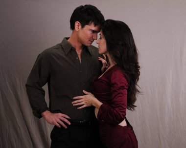 The steamy exotic couple