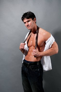 The hot sexy stud