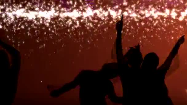 Noční klub strany animace