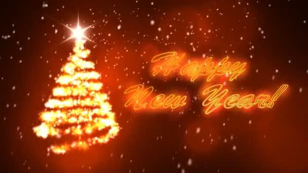 Christmas tree  motiongraphic set (Christmas animation background )