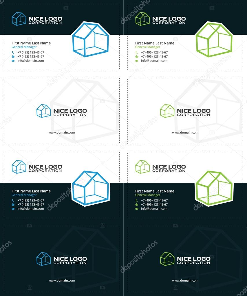 house business card 2 — Stock Vector © VadimSoloviev #128341942