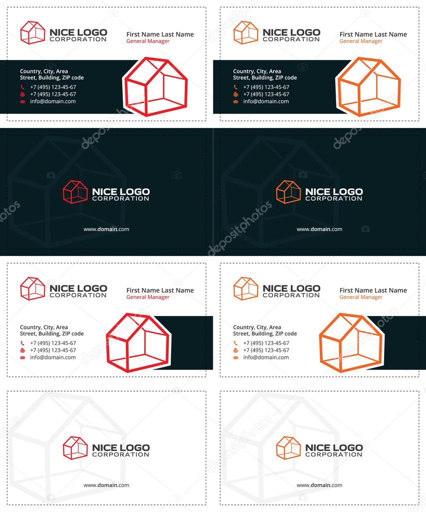 house business card 1 — Stock Vector © VadimSoloviev #128383210