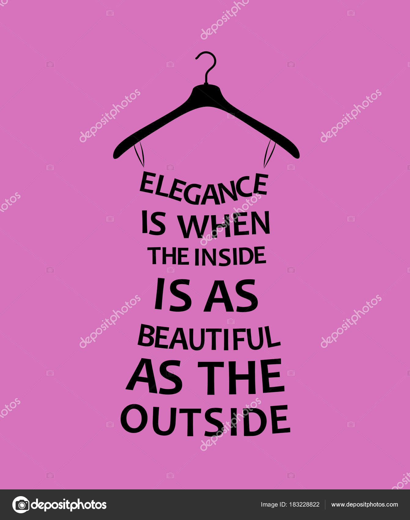 Elegance Quotes Fashion Woman Dress Quote Elegance Vector Stock Vector C Lagodka 183228822