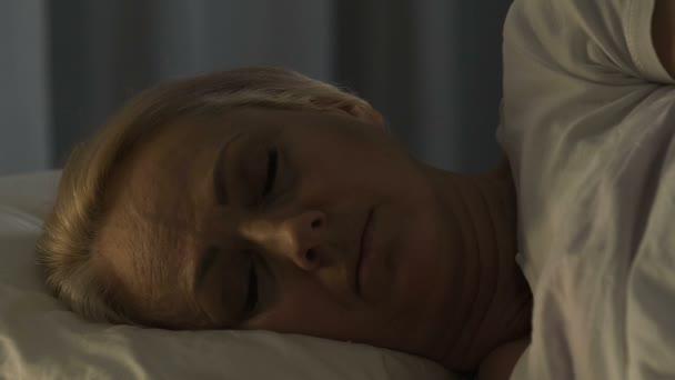 Mature sleep video