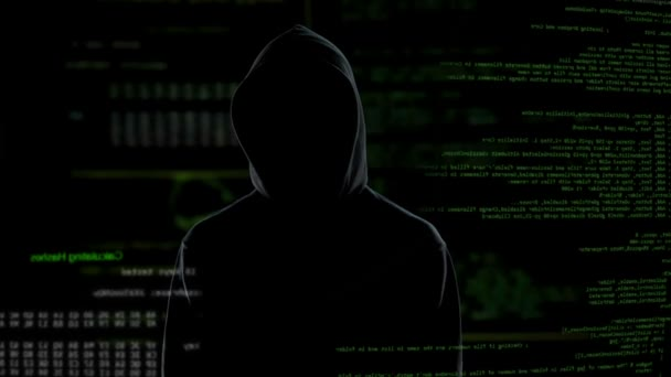 Evil genius man hacked bank account, illegal funds transfer, money  laundering