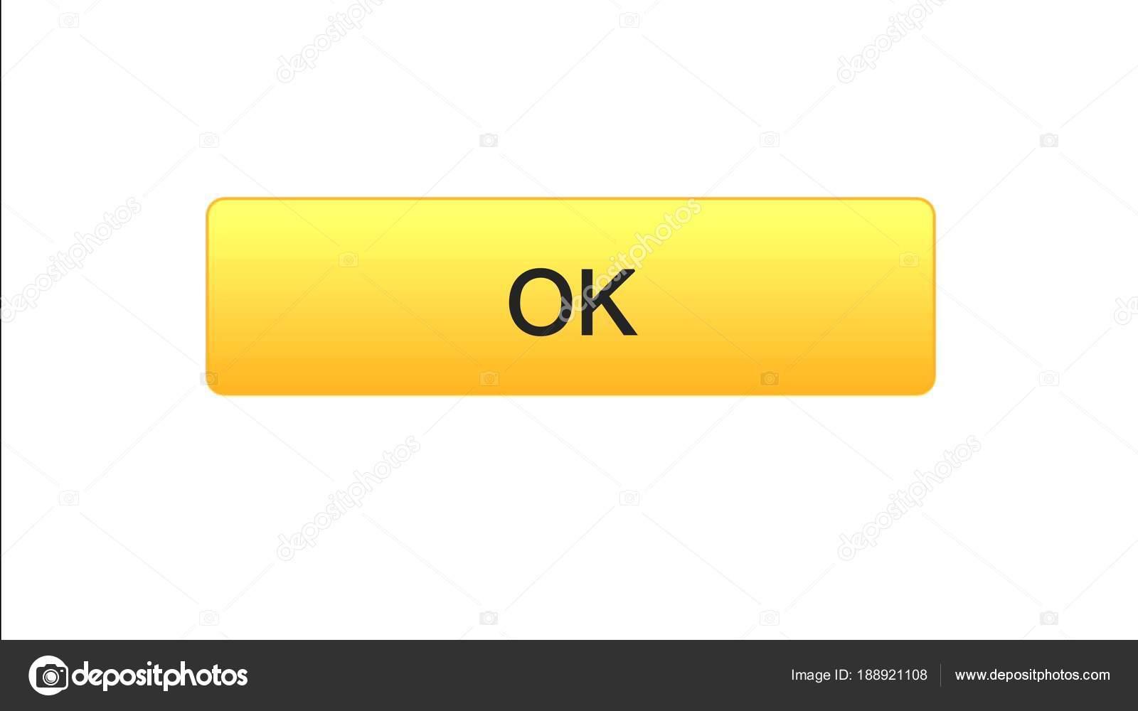 ОК, web интерфейс кнопку оранжевый цвет, интерактивная программа, Интернет  Дизайн сайта, видеоматериал — Фото автора motortion 2e4607d09f1