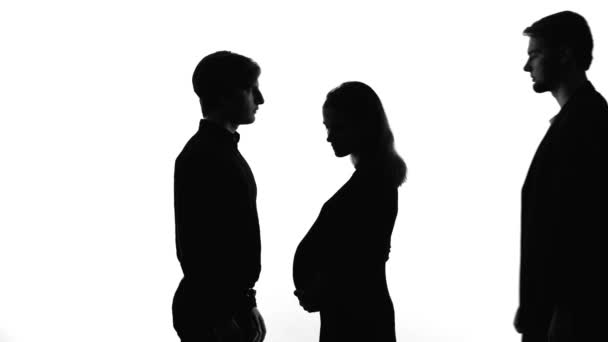 wife pregnant another man