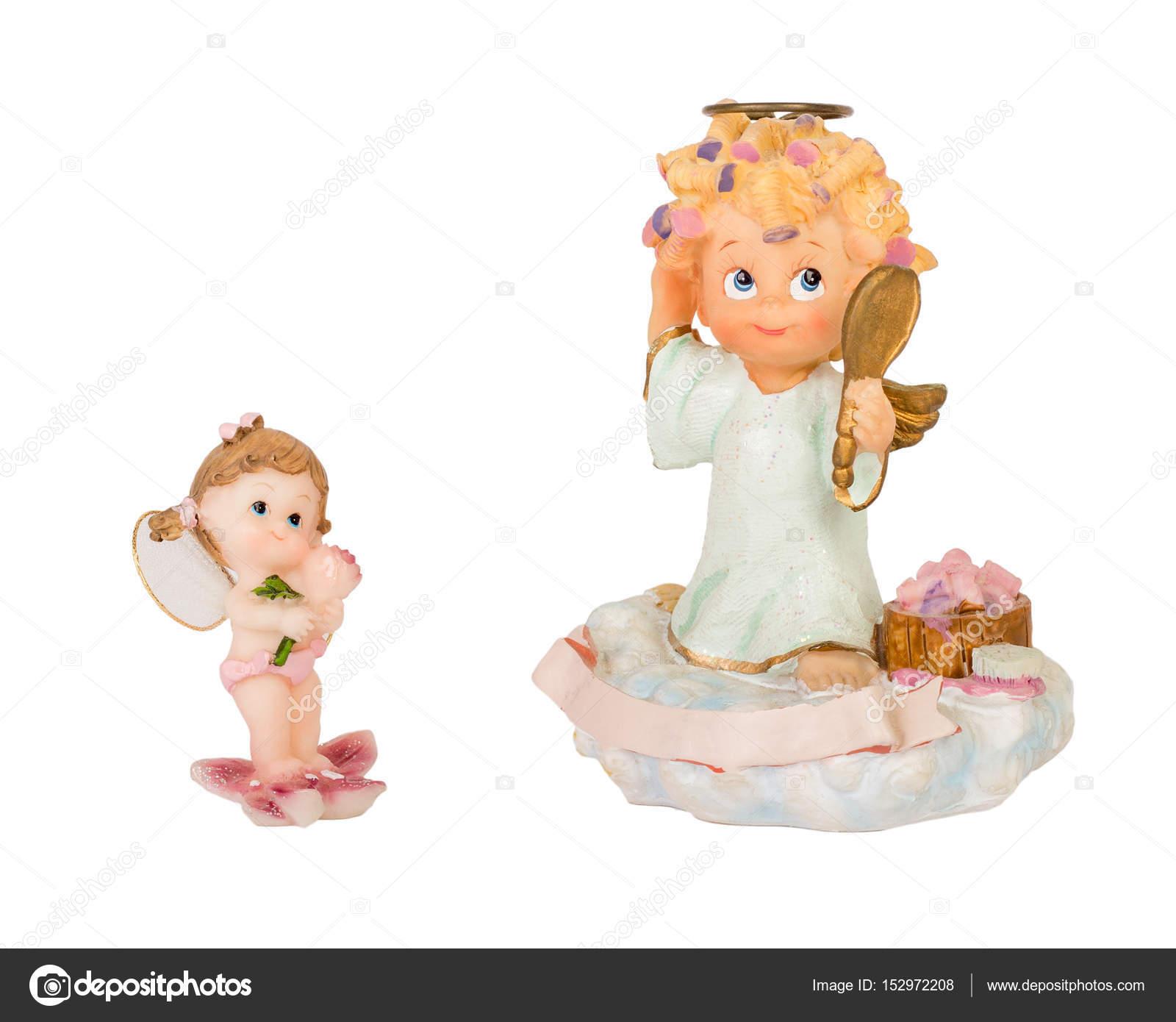 Fotos Angeles Bebes Estatuilla De ángeles Lindos Foto De Stock