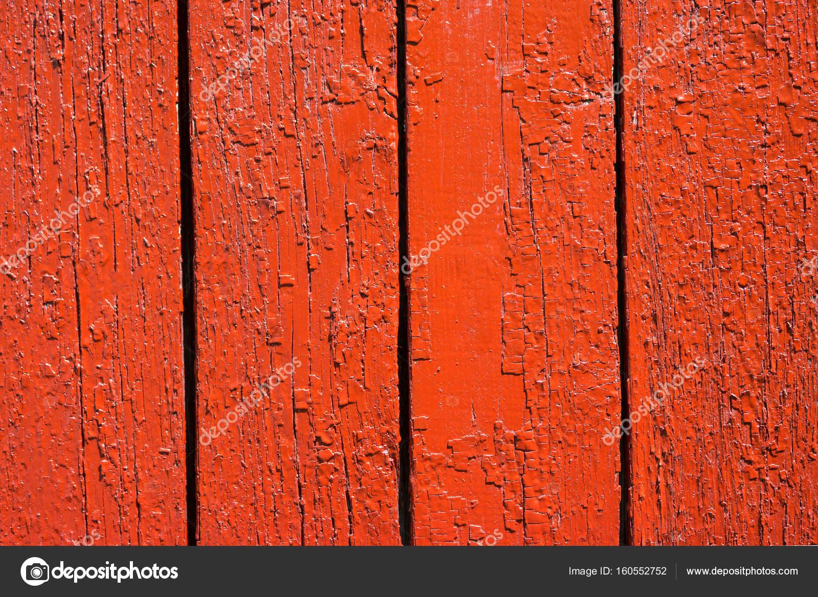 Image De Fond D Un Mur En Bois Peint En Couleur Rouge Vif