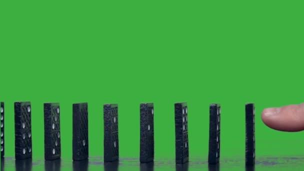 ruční tlačit domino kontinuální