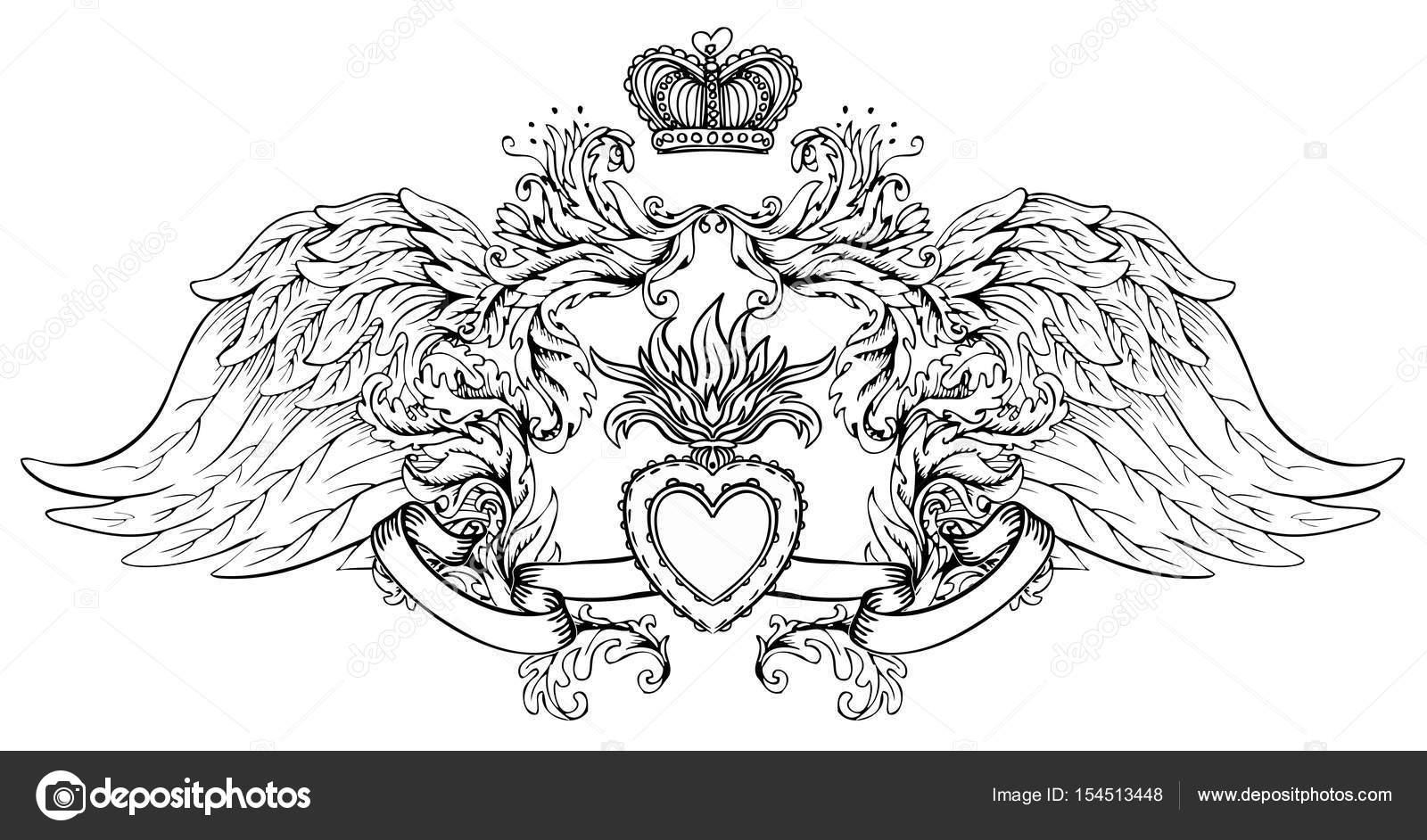 Imágenes: sagrado corazón de jesus para colorear   Sagrado corazón ...