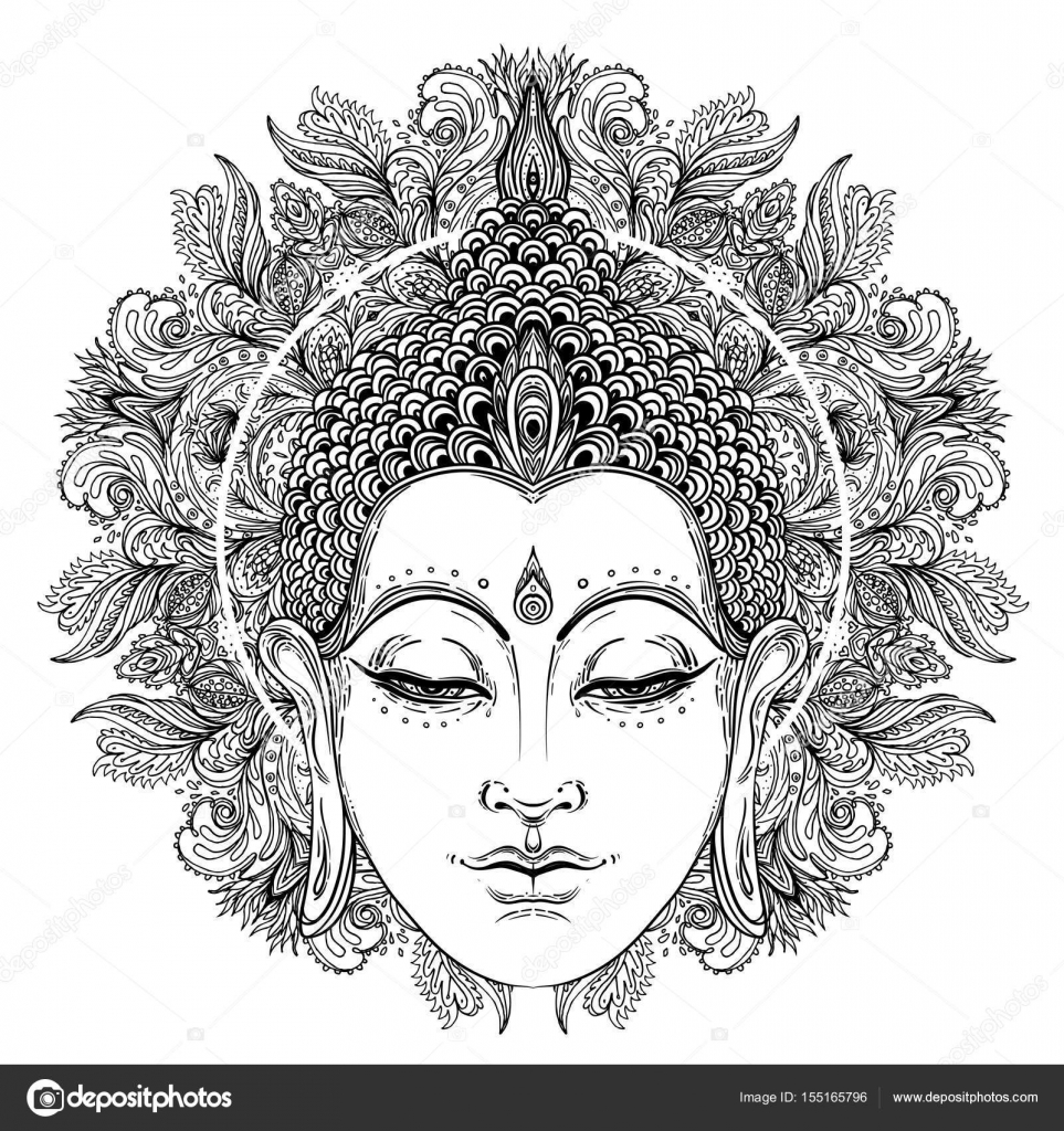 sittande buddha 246 ver utsmyckade ros blomma esoteriska