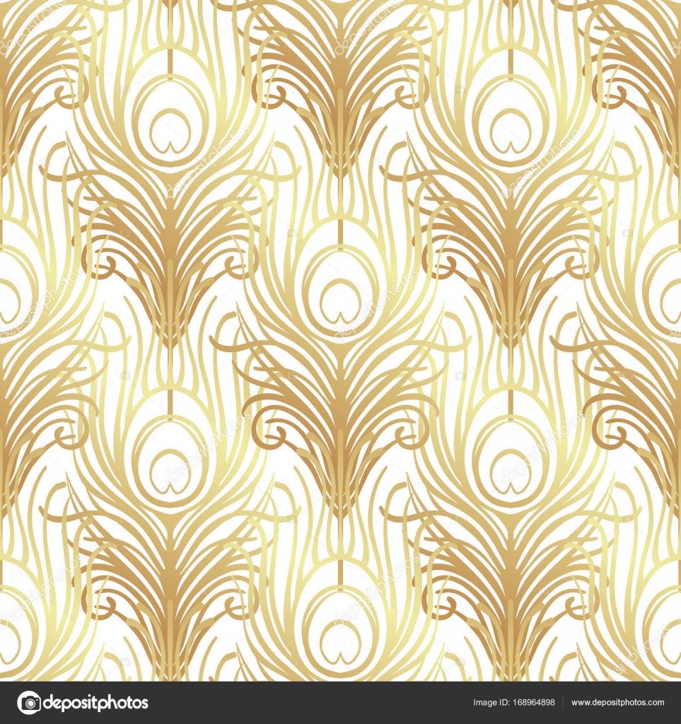 art deco stil nahtlose muster stockvektor vgorbash 168964898. Black Bedroom Furniture Sets. Home Design Ideas