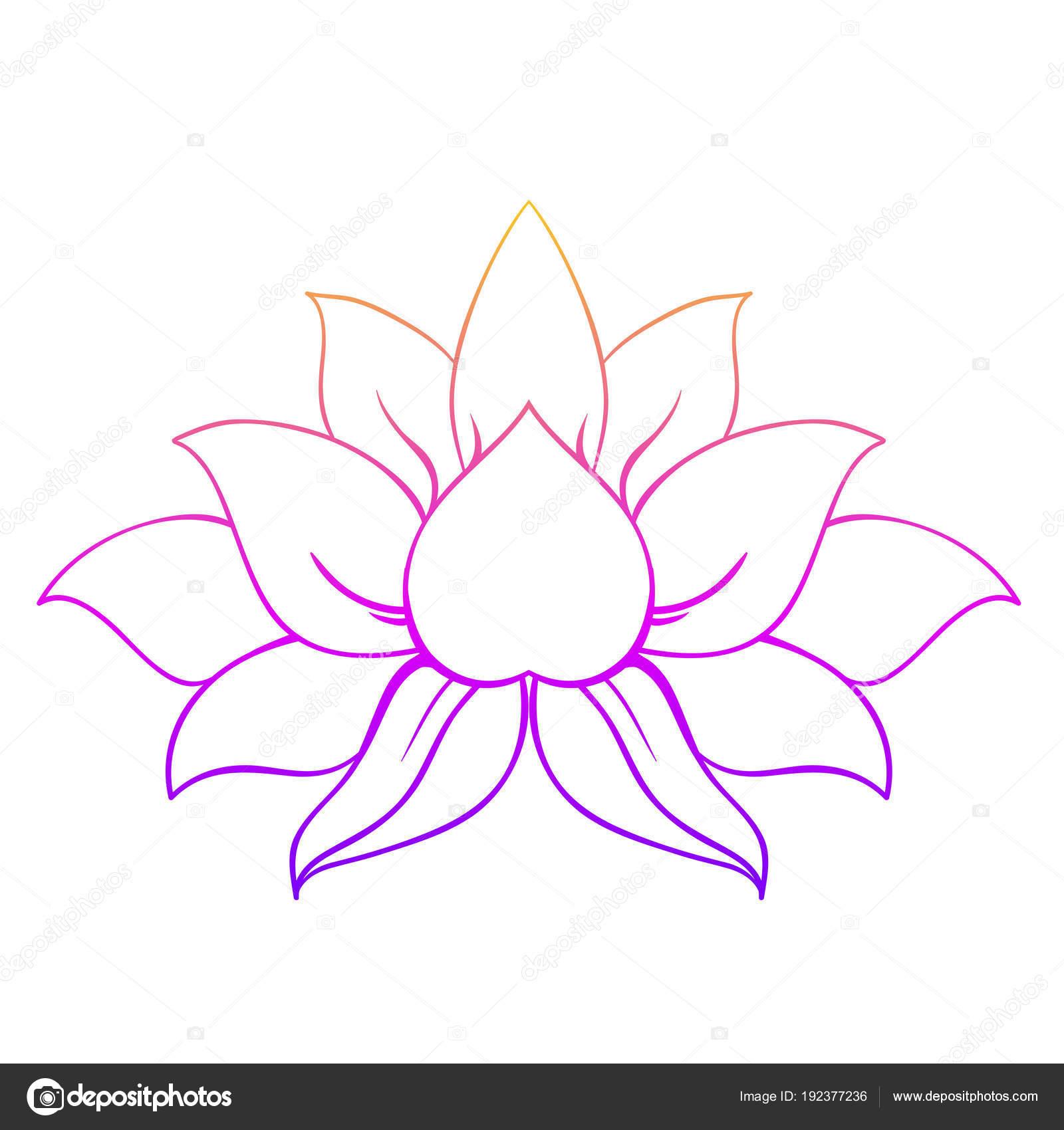 Decorative ornamental lotus flower symbol stock vector vgorbash decorative ornamental lotus flower symbol stock vector mightylinksfo