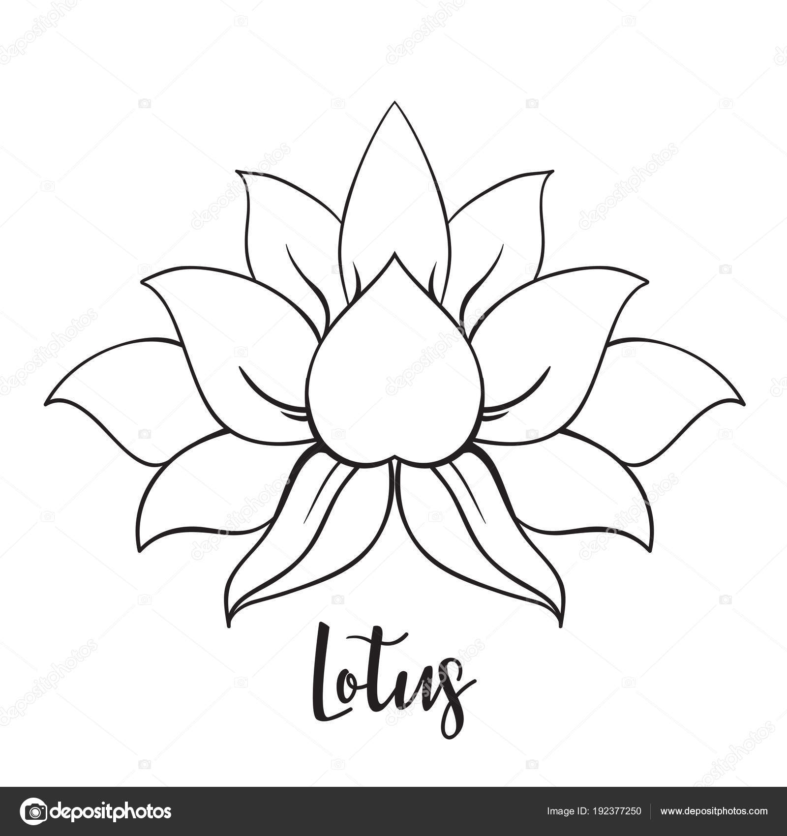 Decorative ornamental lotus flower symbol stock vector vgorbash decorative ornamental lotus flower symbol stock vector izmirmasajfo