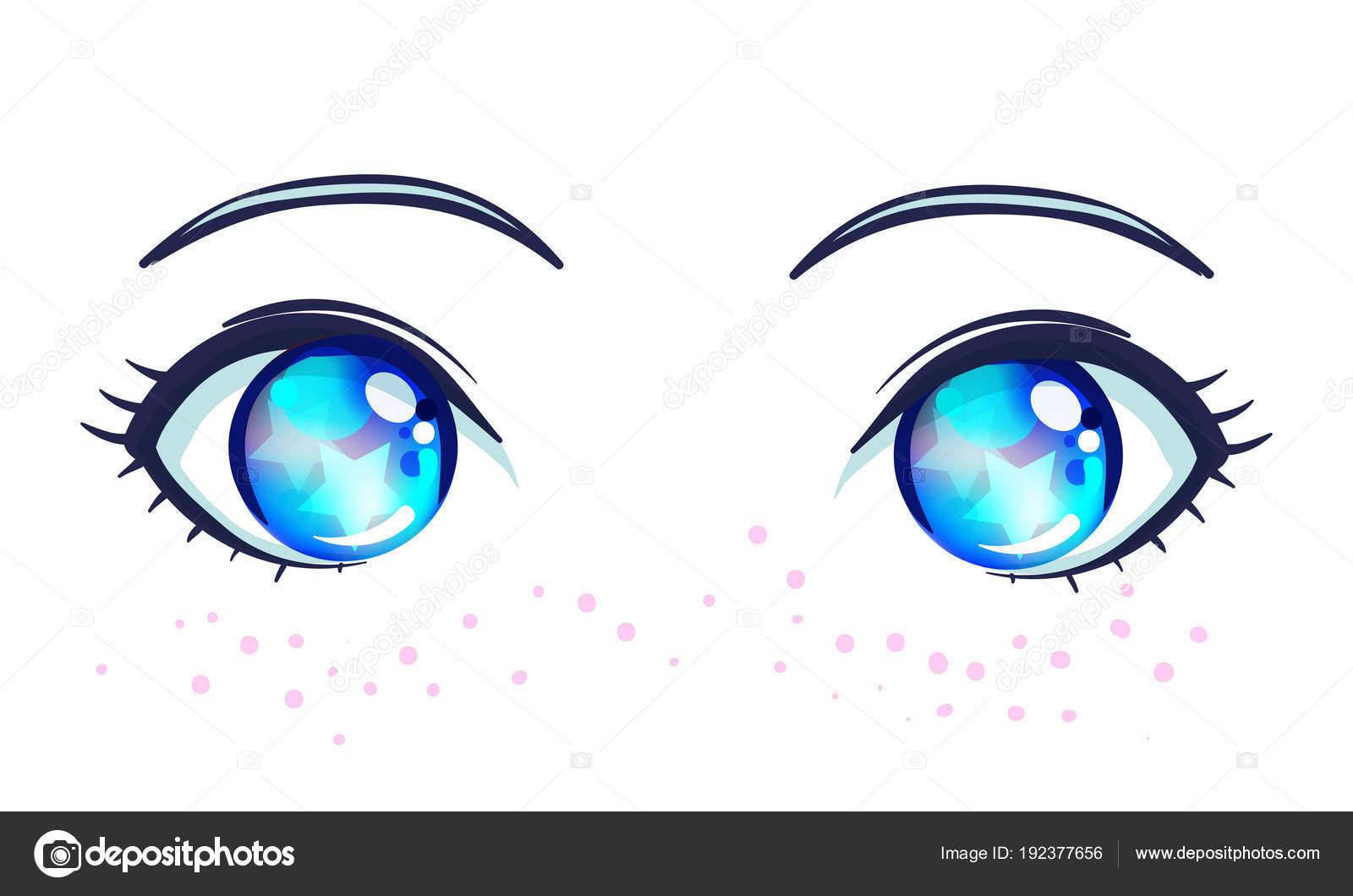 5 232 Anime Eyes Vectors Royalty Free Vector Anime Eyes Images Depositphotos