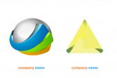 Logo, ikona, design Můžete je použít kdekoli chcete Společnost, obchodní a podobná místa
