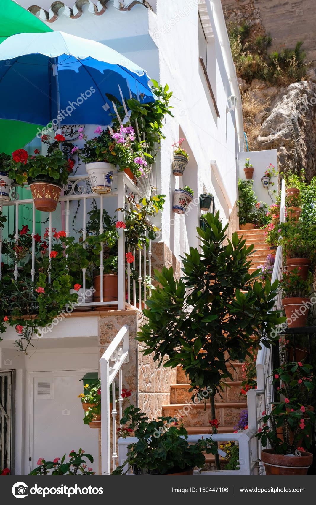 Mijas Andalusien Spanien Juli 3 Typisches Haus In Mijas Andal