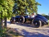 Staré historické auto