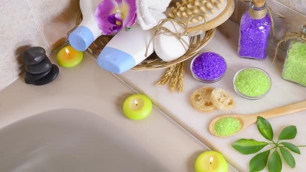 Péče o pleť produkty v koupelně top