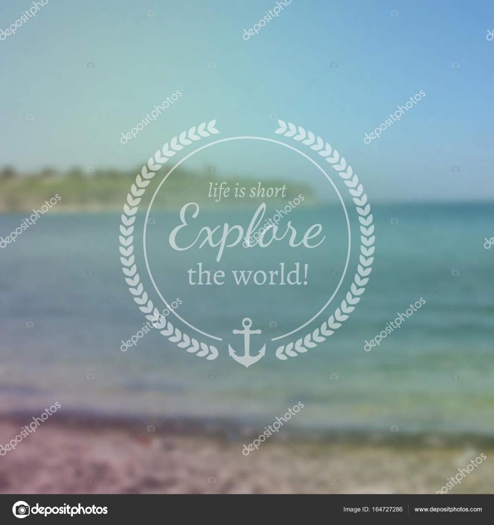 Plantilla de diseño de viajes y vacaciones. Vintage tarjeta ...