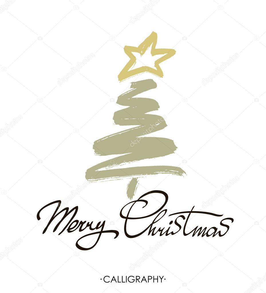 Text Frohe Weihnachten.Frohe Weihnachten Text Design Vektor Logo Typografie