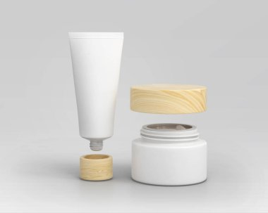 Cosmetic Cream Container High Resolution