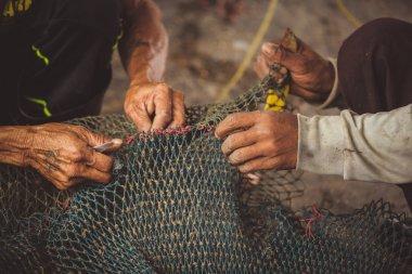 fisherman's hand