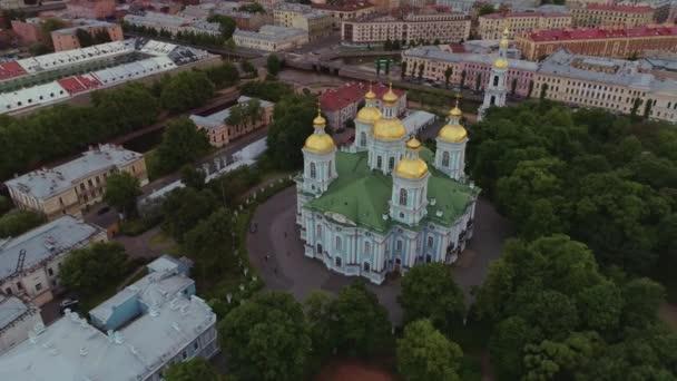 Luftflug über der schönen Saint-petersburg russland 29