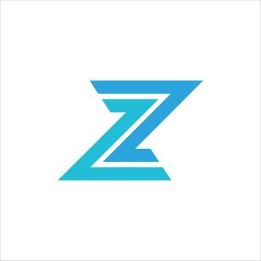 Initial letter z logo design template