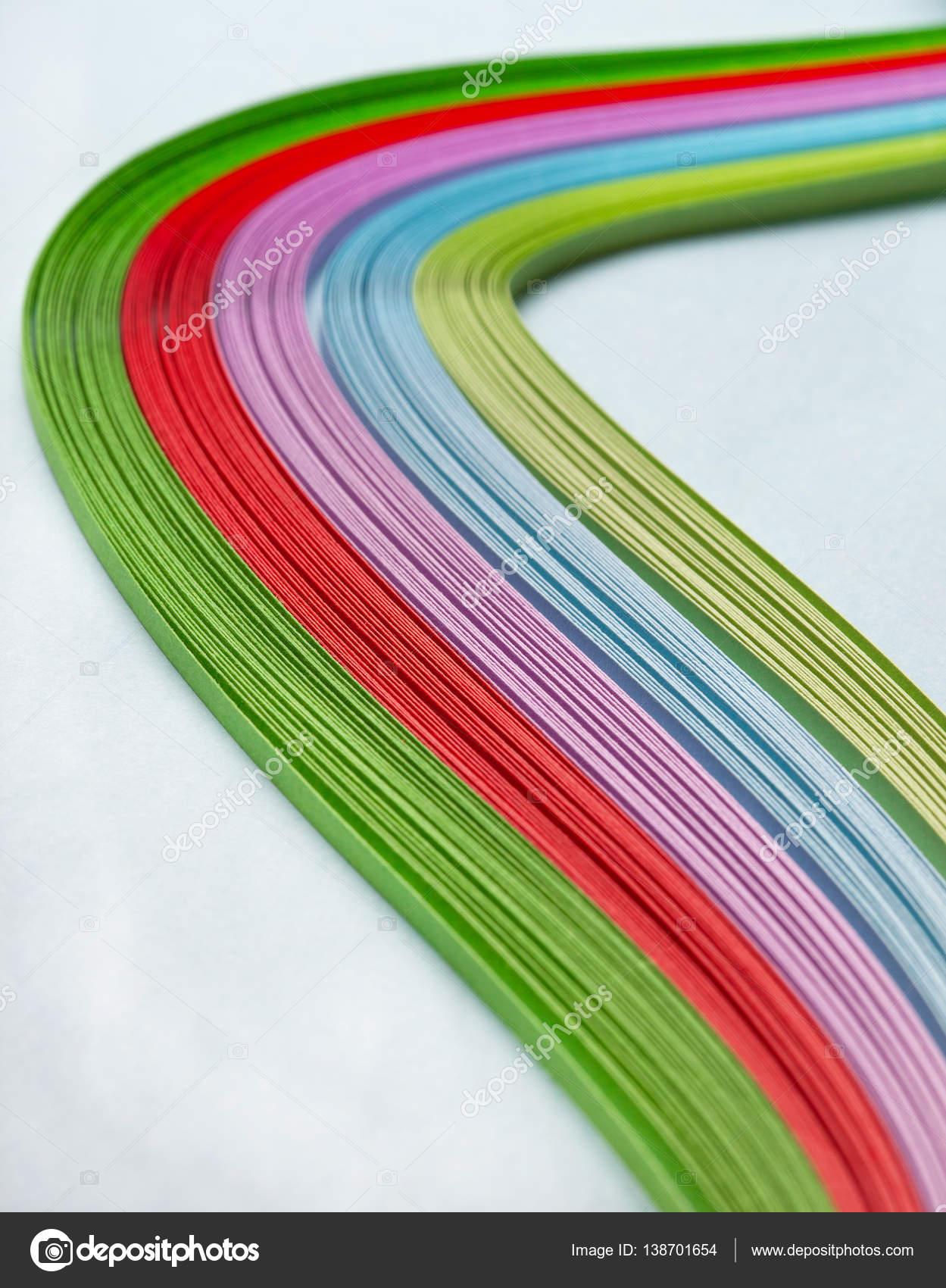 quilling de papel de colores — Foto de stock © Natashamam #138701654