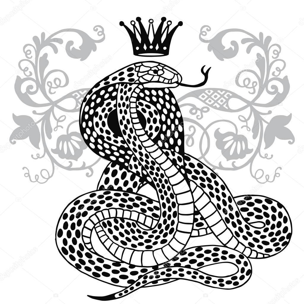 салоу картинки змеи с короной на голове бальзамирования сложная процедура