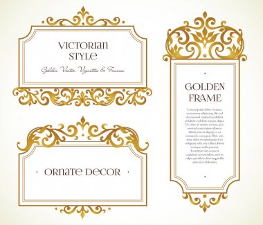 frames in Victorian style