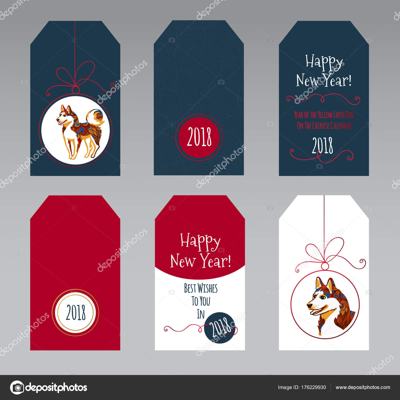 Vector tags with symbol of 2018 on the chinese calendar stock vector tags with symbol of 2018 on the chinese calendar stock vector buycottarizona