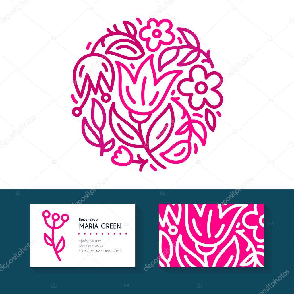 Flower Branding Design