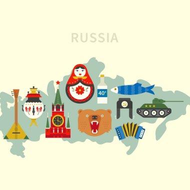Vector Russian Symbols
