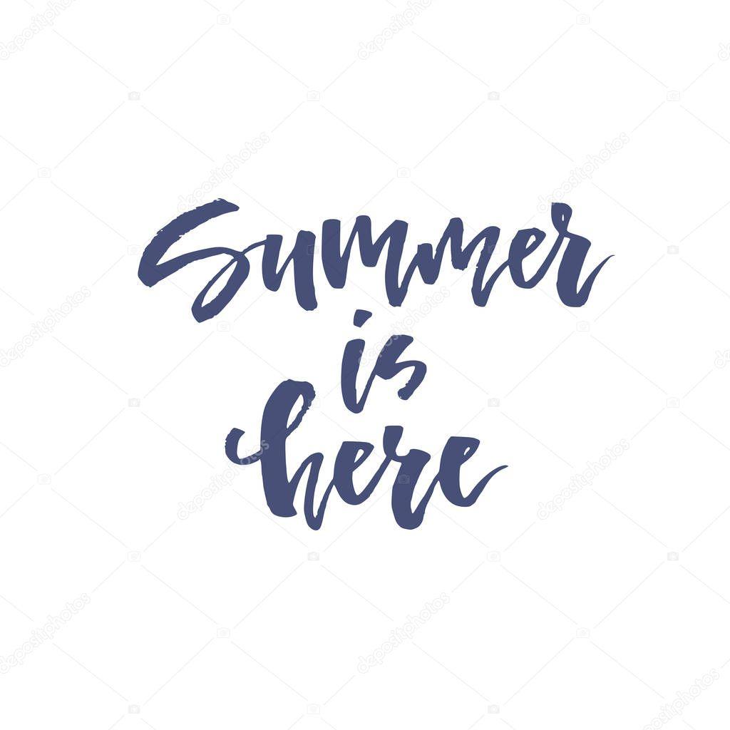 Summer Theme Lettering
