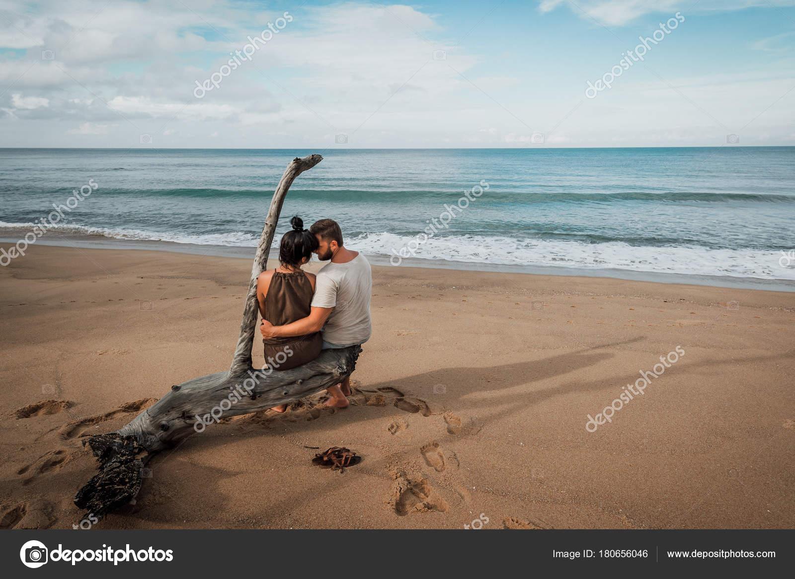 Interrassischer Sex Auf Dem Meer