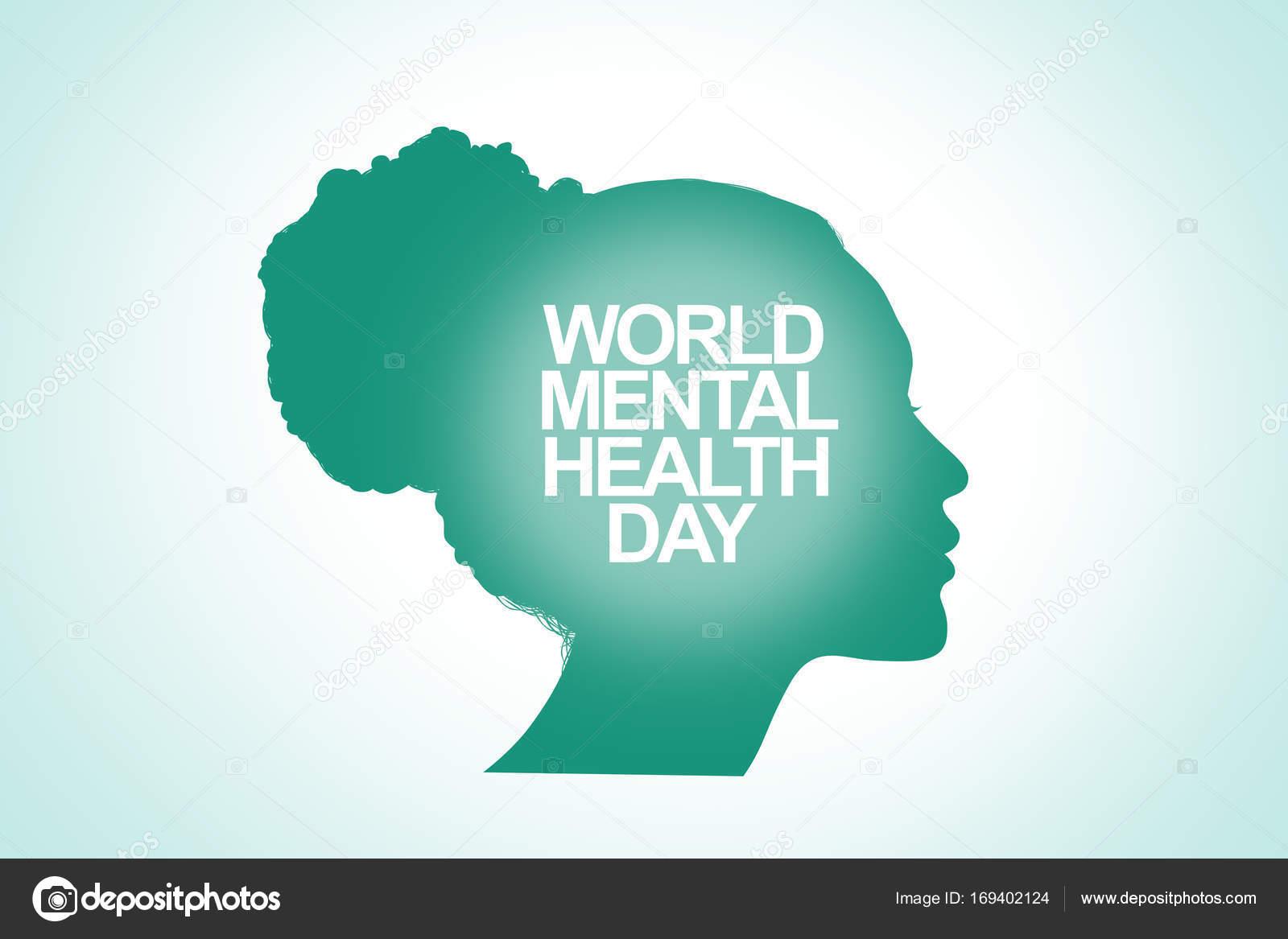 World Mental Health Day Banner Illustration Stock Photo C Tiagoz 169402124