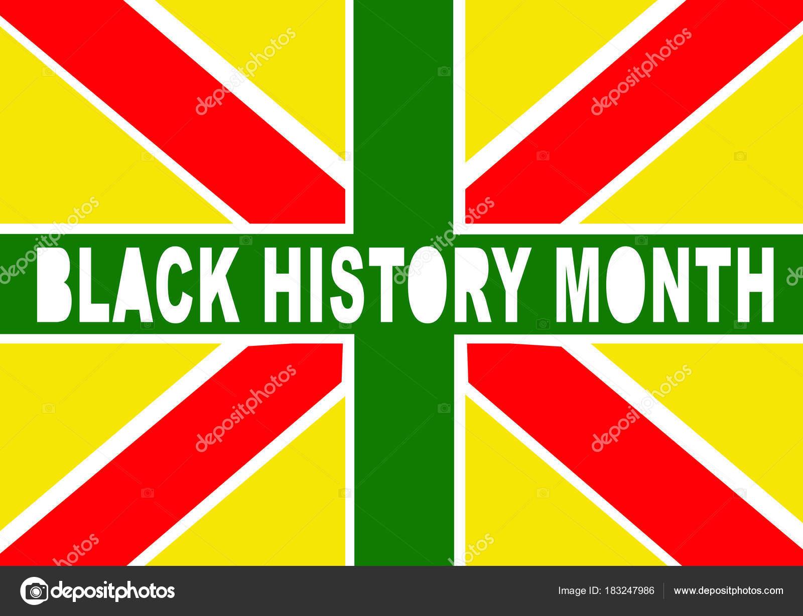 39393128f47366 Black History Month United Kingdom — Stock Photo © tiagoz #183247986