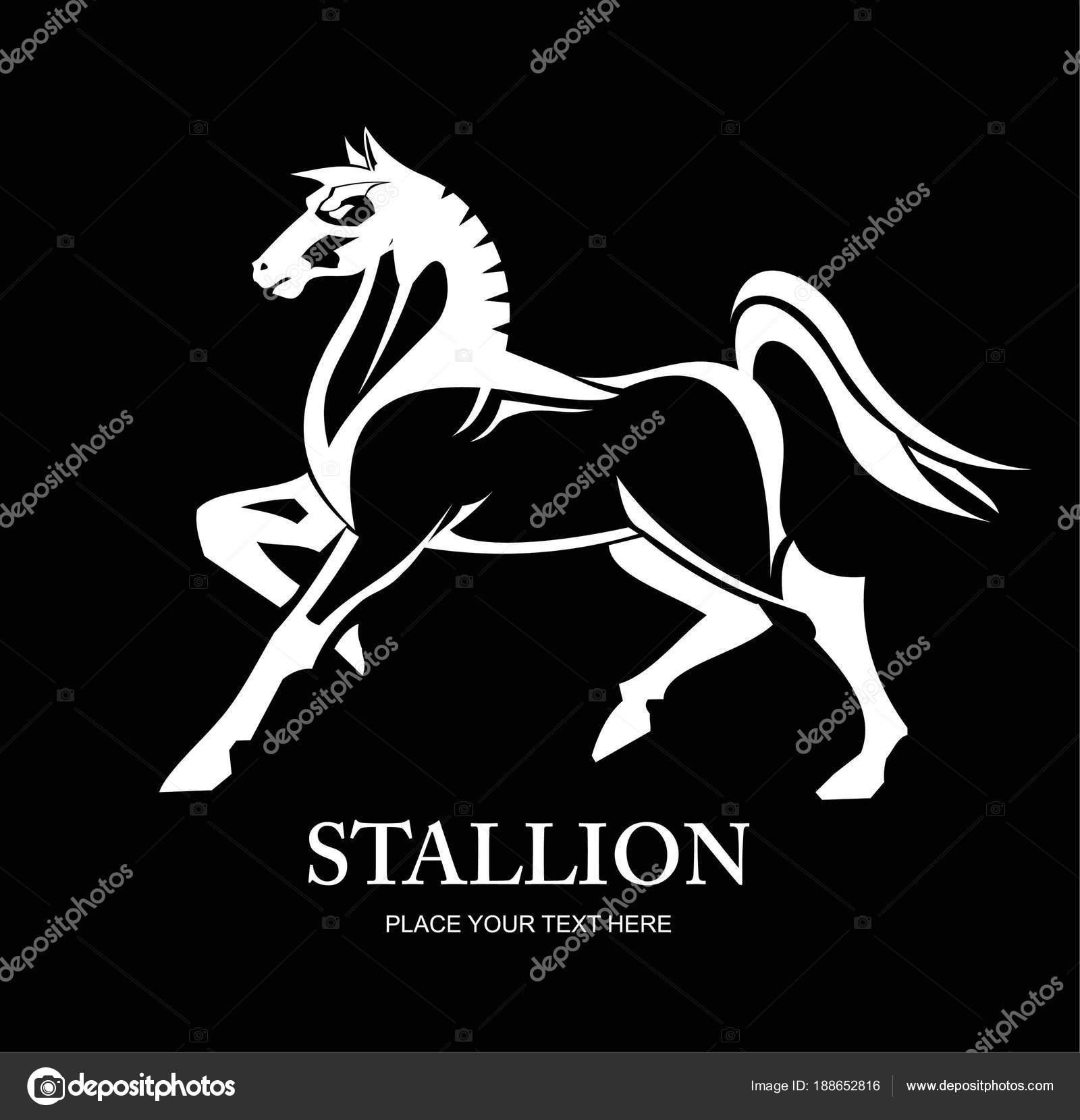na koni velký péro