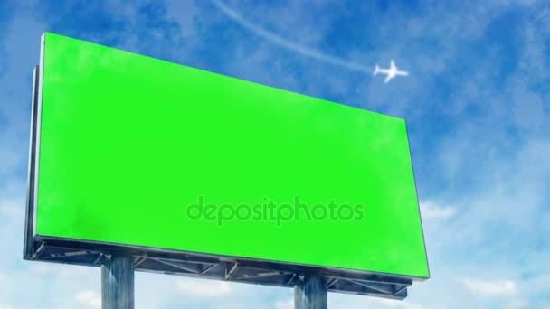 Velký billboard na ulici.