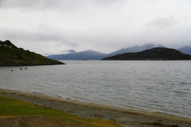 A beautiful landscape from Tierra del Fuego National Park, Ushuaia, Argentina.