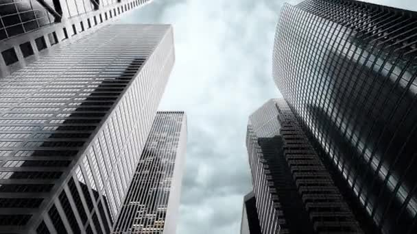 3d rendering of urban city skyscrapers