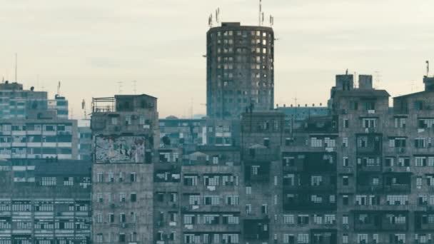 3d rendering of urban city old buildings