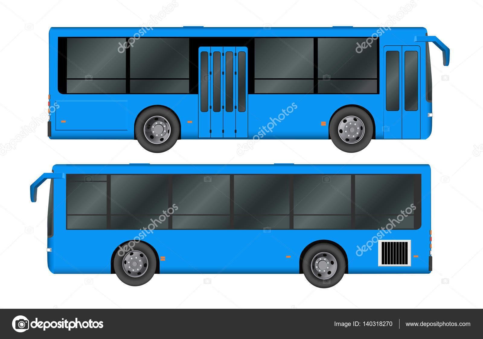 City-Bus-Vorlage. Personenverkehr. Vector Illustration Eps 10 ...